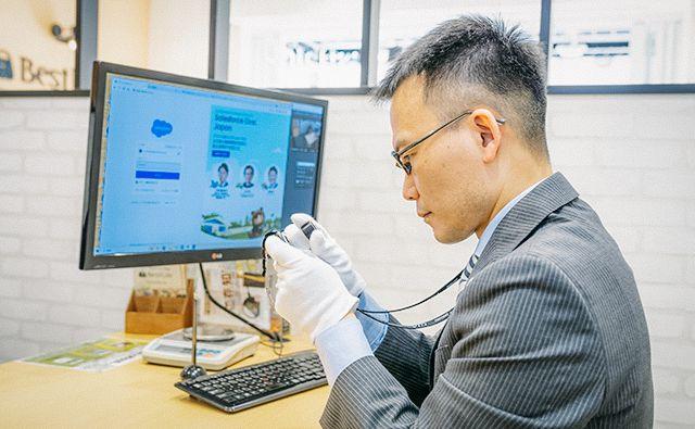 日本でも数少ない「ブランド査定士」の資格が取得できる会社